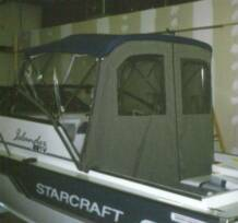 Bimini Top W Extended Rear Top